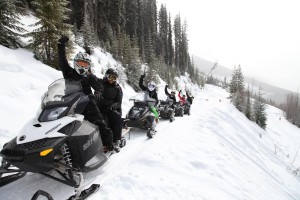 golden bc snowmobiling