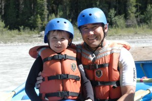 family friendly rafting golden bc